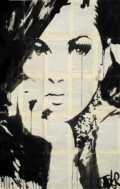 "Saatchi Online Artist Loui Jover; Drawing, ""truth"" #art"