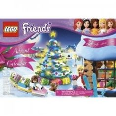 Lego Advent Calendars -- Delight a child this year with a new Lego advent calendar. The Lego Friends Advent Calendar is now available. For fans of the Lego Friend sets... cause I would have to get one for hubby and little miss :)