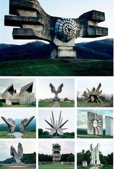 Abandoned Yugoslavian Monuments