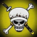TS Trafalgar Law Jolly Roger Animated by Z-studios.deviantart.com on @deviantART