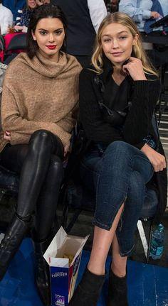 Estilo de las BFF's: Gigi Hadid y Kendall Jenner : ELLE