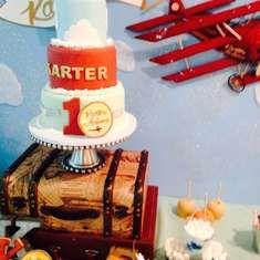 Vintage Airplane Party   - Vintage Airplane
