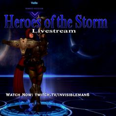 Playing Valla in #HeroesOfTheStorm! Feel free to drop by :) Watch Now: http://twitch.tv/invisibleman6  #livestream #livestreaming #stream #diablo #valla #assassin #moba #battle #dota #game #games #gaming