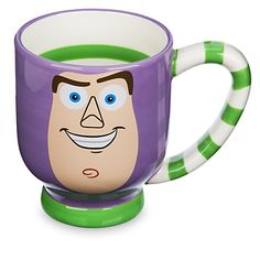 15 Disney coffee mugs that will make a statement at work. Shown here, Buzz Lightyear from Toy Story. Nothing will wake you up better each morning than these Disney mugs you can both sip from and show off around the office. Cheap Coffee Mugs, Disney Coffee Mugs, Disney Mugs, Best Coffee Mugs, Black Coffee Mug, Funny Coffee Mugs, Funny Mugs, Coffee Cups, Tea Cups