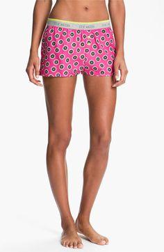 Steve Madden 'Pattern Play' Boxer Shorts | Nordstrom. Cute and comfortable pajama shorts.