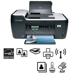 Lexmark Interpret Wireless All-In-One (AIO) Printer/Copier/Fax Machine/Scanner, Refurbished Multifunction Printer, Printer Cartridge, Electricity Bill, Wifi, All In One, Printers, Walmart, Color, Colour
