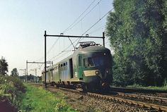 Trein 16951, van Sittard naar Heerlen. 30 Augustus 1983