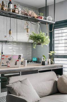 tiny apartment studio design idea 6