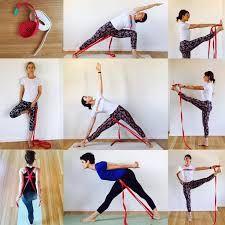58 mejores imágenes de yoga con cinturon  yoga posturas