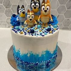 Another kids cake that I absolutely loved making. Helps when it is based on (in my opinion) one of the best kids. First Birthday Party Themes, 4th Birthday Parties, 5th Birthday, Birthday Ideas, Bday Girl, Birthday Cake Girls, Birthday Cakes, Abc For Kids, Rainbow Birthday
