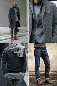 cool# winter# gray# style