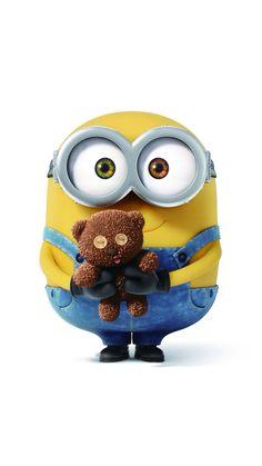 Bob the minion is the cutest and his teddy bear! Amor Minions, Minions Bob, Minion Jokes, Minions Despicable Me, Minions Quotes, Minions 2014, Minion 2, Evil Minions, Minion Movie