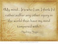 Bloodlines Quotes   Sydney Sage