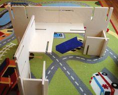 L Walls, extender kit for Modular Wall Sets, blocks for imaginative free play, castles, futuristic city, medival fortress