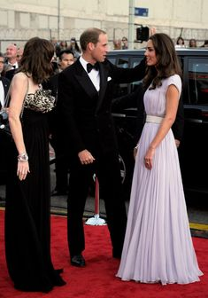 Kate Middleton Photos - The Duke and Duchess of Cambridge Attend BAFTA Brits To Watch Event - Zimbio