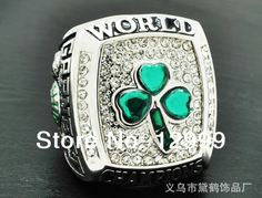 Free Shipping Fashion 2008 Boston Celtics Championship Rings high quality  rings 1 piece,Customized  Welcomed $25.00