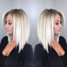 Stylish and Sweet Lob Haircut, Long Bob Hairstyle, Everyday Hairstyles for Women Related posts: 10 Stylish & Sweet Lob Haircut Ideas, Shoulder Length Hairstyles 2019 Idée Coiffure: Description The ultimate … Long Bob Hairstyles, Everyday Hairstyles, Blonde Haircuts, Hair Styles Everyday, Shoulder Length Blonde Hairstyles, Short Haircuts, Aline Bob Haircuts, Short Highlighted Hairstyles, Styling Shoulder Length Hair