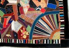 crazy quilt borders - Google Search