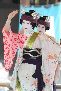 Maiko Odori Performance, Japan