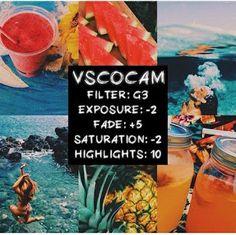 Hơn 200+ Công thức bí kíp chỉnh màu độc đẹp lạ trên VSCO CAM | CƯỜNG XOÁY BLOG