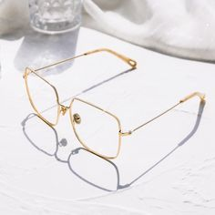 Sterre eyeglasses in Gold Color | Optical | TIJN Eyewear – Shop Prescription Eyeglasses & Blue Light Filter Glasses Online Prescription Glasses Frames, Prescription Lenses, Lit Mirror, Eyewear, Sunglasses Online, Reading Glasses, Ultra Violet, Looking For Women, Silver Color