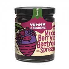 Mixed Berry and Beetroot Spread