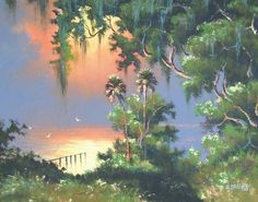 Florida Highwaymen artist Willie Daniels
