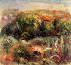Landscape near Cagnes - Pierre-Auguste Renoir