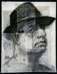 Self portrait by William Kentridge. William Kentridge (born 28 April 1955) is a South African artist best known for his prints, drawings, and animated films.