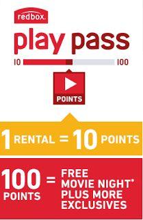 Shoppin N More: Redbox Play Pass - Free Redbox Movie Rentals!