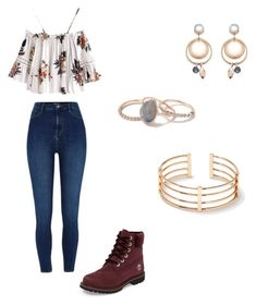 """Untitled #5"" by lulu14041722 on Polyvore featuring River Island, Timberland and Miss Selfridge"