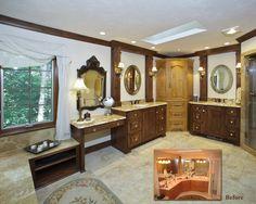#barenzbuilders Master Bathroom Remodel Before-After