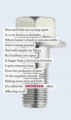 Honda - back to work