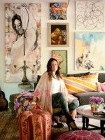 A Star Designer Invites Us Into Her Dreamy Little BK Cottage  #refinery29  http://www.refinery29.com/foley-and-corinna