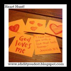 I Did It - You Do It: Heart Hunt - Social Media Plan