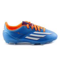 cheaper 9ae0c ba11f Adidas F10 TRX FG J SOLARBLUE,RUNNINWHT,SOLARZEST Synthetic Athletics 1 M  US Little Kid adidas  45