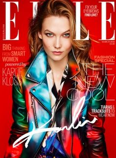 COVER Karlie Kloss on the March 2016 cover of ELLE UK wearing Louis  Vuitton. Styled by Anne-Mari Highlight Description Karlie Kloss on the  March 2016 cover ... bf5a8351b14
