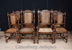 Oak Dining Chairs, French Oak, Hunting, Farmhouse, Antiques, Furniture, Home Decor, Style, Antiquities