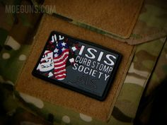 MoeGuns ISIS Curbstop Society PVC Patch MoeGuns Morale Patches