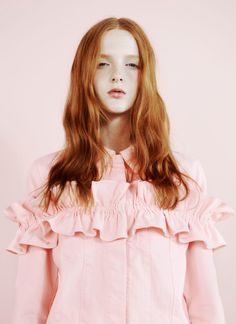 Simone Rocha x J Brand lookbook photographed by Ben Toms