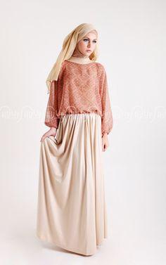 Basic Skirt ❤ hijab style