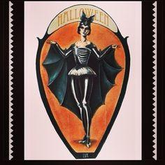 Bat costume & Vintage Bat Lady Postcard | Pinterest | Bat costume Bats and Costumes
