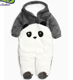 Cheap animal romper, Buy Quality newborn baby rompers directly from China baby rompers Suppliers: Newborn baby rompers Winter Panda Baby boy clothes Jumpsuit cotton fleece costume Baby Girl costume animal Rompers 66 Baby Kostüm, Baby Boy Newborn, Baby Outfits, Ropa American Girl, Baby Overalls, Panda Love, Baby Fairy, Baby Costumes, Cute Baby Clothes