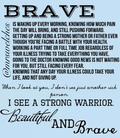 .Beautiful and Brave