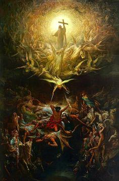 1880 Dante Alighieri The Divine Comedy Gustave Dore Hell Purgatory Paradise