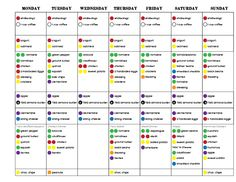 Round 1, Week 2 - 21 Day Fix Challenge Pack, 21 Day Fix, Portion Control, Clean Eating, Eat Clean, Healthy recipes, Breakfast, lunch, dinner, 21 day fix meal plan, meal planning, meal prep