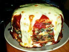 Torta de acelga menú especial