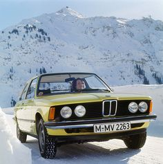 """BMW's first 3 Series, the was unveiled in Frankfurt in 1975 and debuted in the U. two years later. Dual headlights and a raked """"shark nose"""" front end made it instantly recognizable. In BMW added a more powerful six-cylinder version of the to its lineup. Suv Bmw, Bmw Cars, Carros Bmw, Bmw Black, Bmw E21, Automobile, Bmw Autos, Bmw Classic Cars, Classic European Cars"""