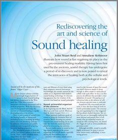 Rediscovering The Art & Science of Sound Healing Healing Words, Sound Healing, Holistic Healing, Natural Healing, Solfeggio Frequencies, Sound Bath, Asmr, Alternative Therapies, Chakra Meditation