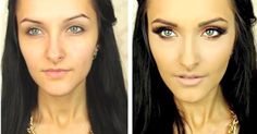 Victoria's Secret Inspired Gold Eye Makeup Tutorial: Perfect For Blue Eyes!  http://karasglamourblog.blogspot.com/2013/10/victorias-secret-inspired-gold-eye.html